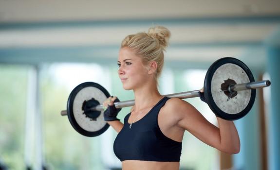 Spieren helpen je om slanker te worden.