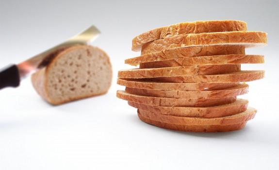 Stop met brood eten!