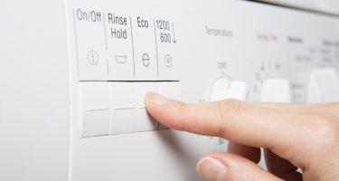 Was je schoner met de eco-stand op je wasmachine?