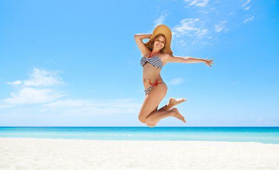 Slanker lijken in je bikini? Met deze geniale tips!