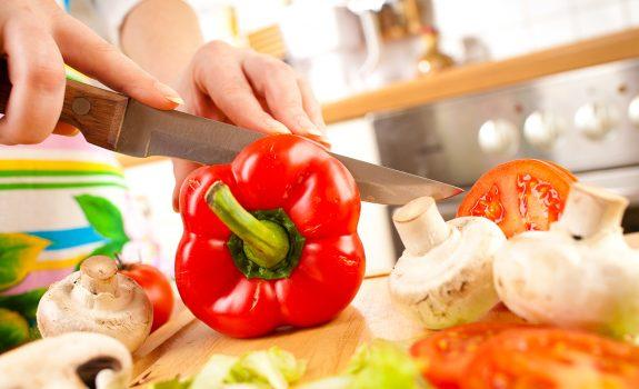 Bevatten (voor)gesneden groentes minder vitamines?